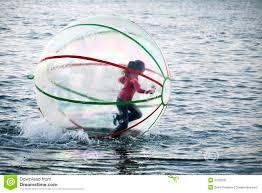 bal op het water
